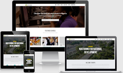 NAPPS Nigeria website design by City-SilverConnect Limited